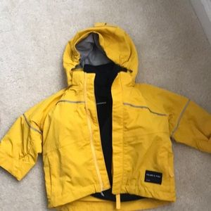 Polarn. O Pyret Toddler all weather coat